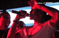 """Trey Songz """"Performs on NYE at 400 Club in South Beach"""""""