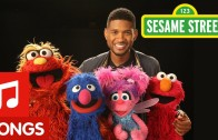 Usher Remixes The ABC's On 'Sesame Street'