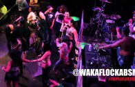 "Waka Flocka ""Has Ratchet Twerkin Contest On Stage in Boston"""