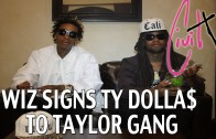 """Wiz  Khalifa Feat. Ty Dolla $ign """"Signs Ty Dolla $ign To Taylor Gang"""""""