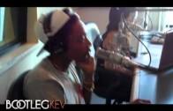 "Wiz Khalifa ""In Studio w/ Bootleg Kev"""
