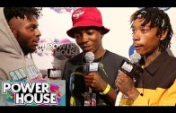 Wiz Khalifa, Isaiah Rashad, Dizzy Wright & More On Red Carpet At Powerhouse 2014