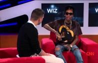 """Wiz Khalifa """"Talks Weed & Snoop Dogg On CNN"""""""