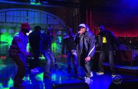 "Wu-Tang Clan ""Ruckus In B Minor"" Live On David Letterman"